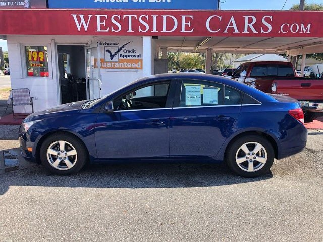 2012 Chevrolet Cruze 1LT 6-Speed Automatic