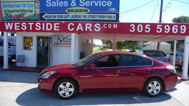 2008 Nissan Altima2.5S 4DOOR 4CYL AUTOMATIC