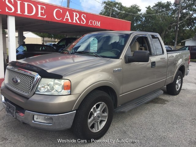 2004 Ford F-150 Lariat SuperCab 2WD 4-Speed Automatic