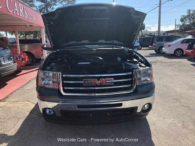 2012 GMC Sierra 1500 SLE Ext. Cab 4WD 6-Speed Automatic