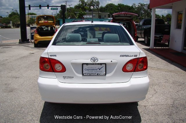 2008 Toyota Corolla 4-Door Sedan